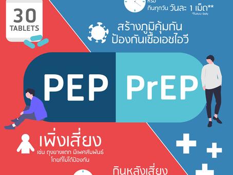 PEP กับ PrEP