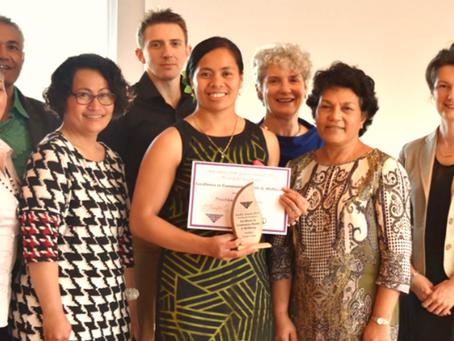 PHS Pasifika Choice Team Win Award