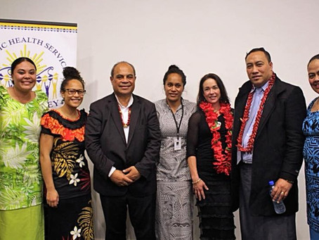 Showcasing Services to Minister for Pacific Peoples