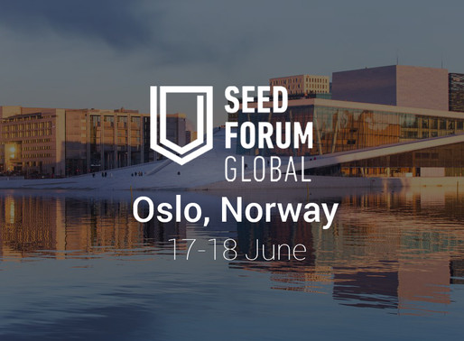 Join us at Seed Forum Global Conference in Oslo, Norway