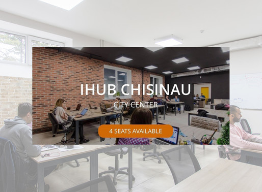 One membership. All spaces. iHUB Chisinau is on One Coworking app