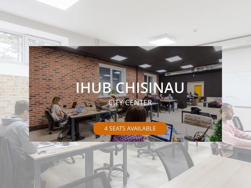 One membership. All spaces. iHUB Chisinau is on One Coworking app