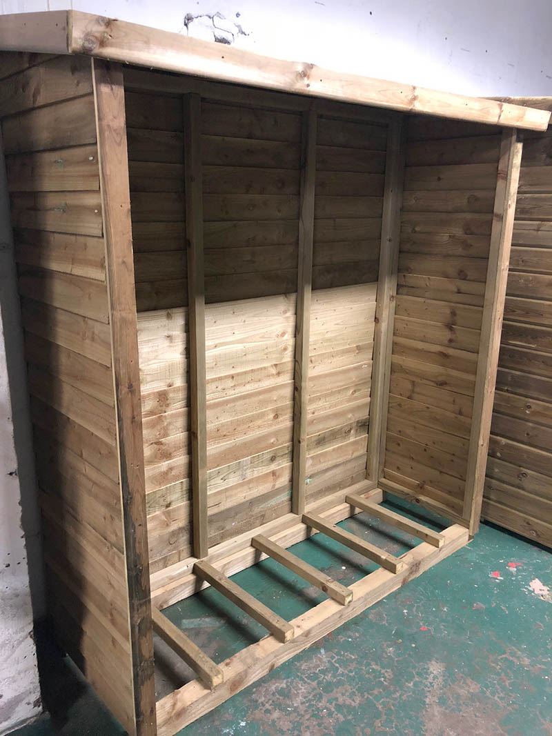 6ftx2ft Log Store