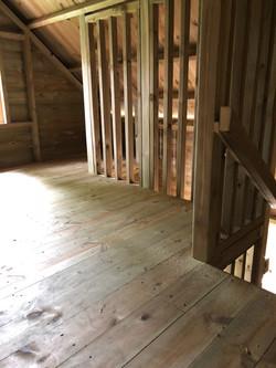 upstairs in custom playhouse
