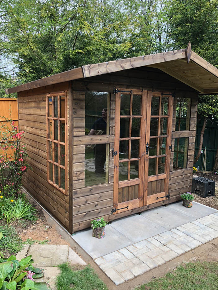 8x8 Summerhouse