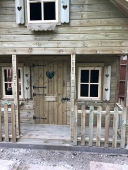 10x10 custom playhouse