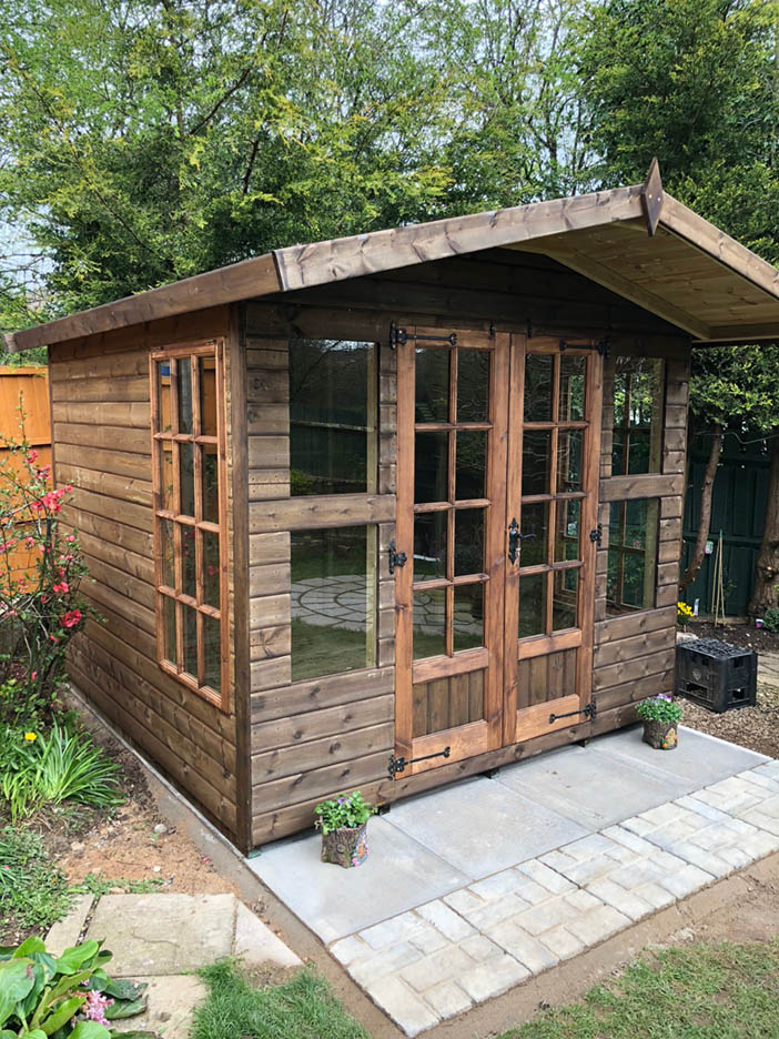 8x8 Summerhouse 3