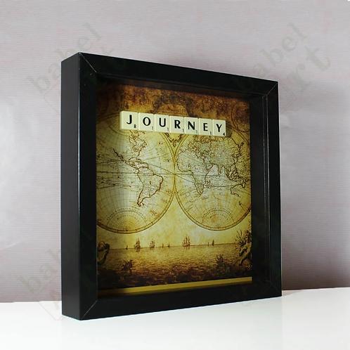 Journey - Vintage Map