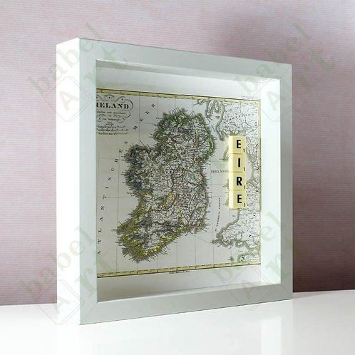 Ireland Map - Eire