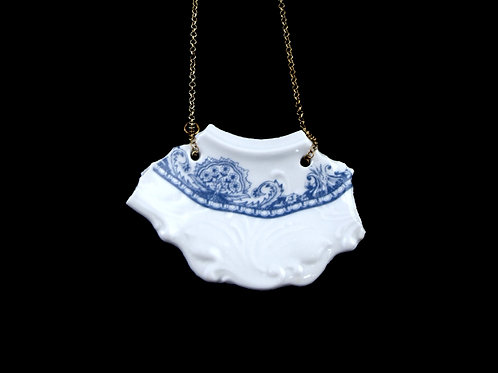 "Delft Necklaice N°2- ""Broken collection"""