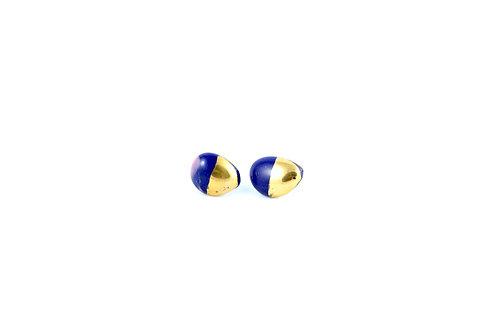 La Traviata Earrings Cobalt N°6
