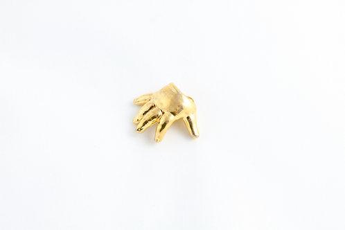 Gold Baby Hand Pendant