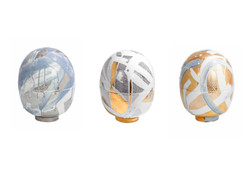 Egg Vessels Trio Created at Meissen