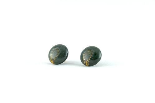 La Traviata Earrings Dark Geen N° 41