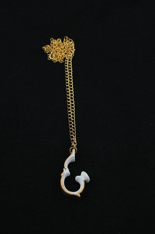 Handle single pendant gold