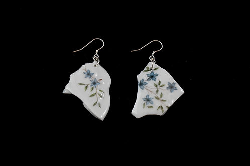 "Flower Earrings N°1- ""Broken Collection"""