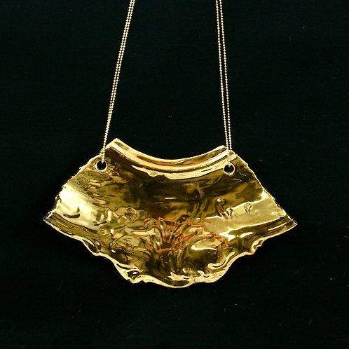 """Gold Necklaice- """"Broken collection"""""""