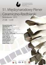 51 Międzynarodowy Plener Ceramiczno-Rzeźbiarski w Bolesławcu