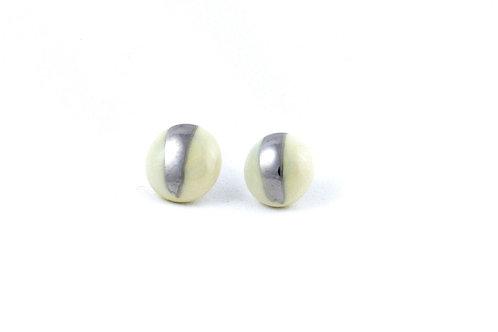La Traviata earrings yellow and platinum