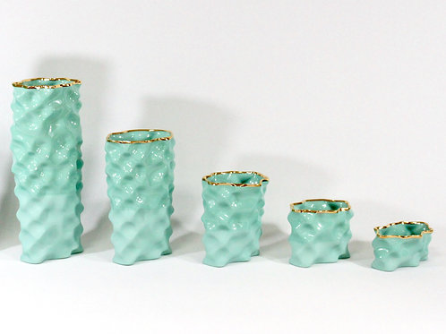 Aquamarine Gold Ø Wave Collection