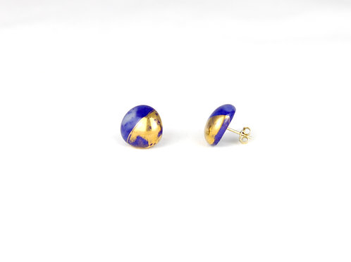 La Traviata Earrings Cobalt N°37
