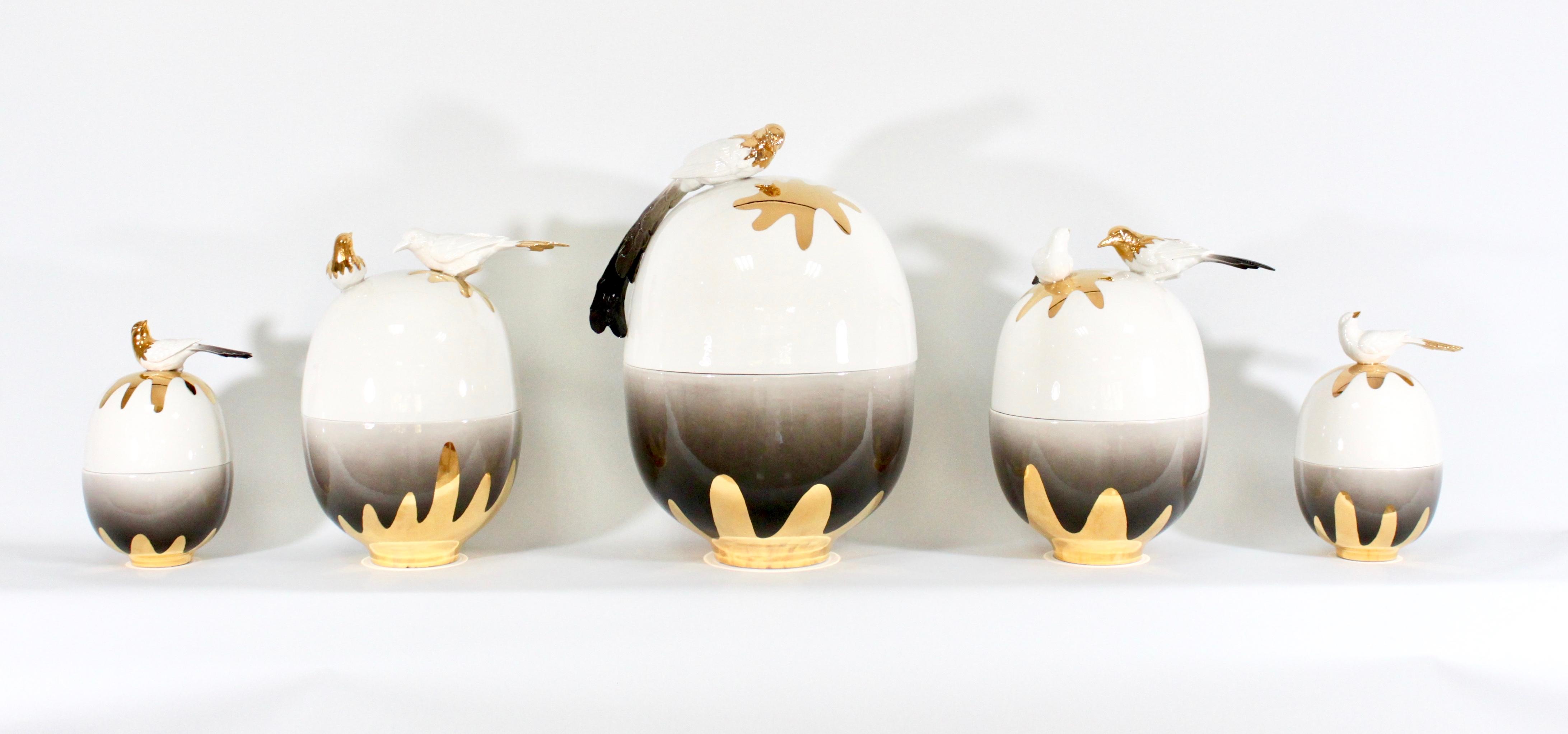 Gold Birds (Magpie)