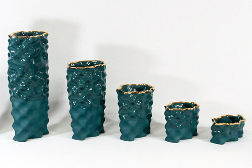 Dark Green & Gold Ø Wave Collection