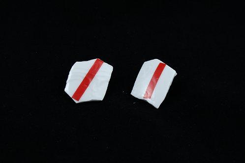 """Stripe Earrings- """"Broken Collection"""""""