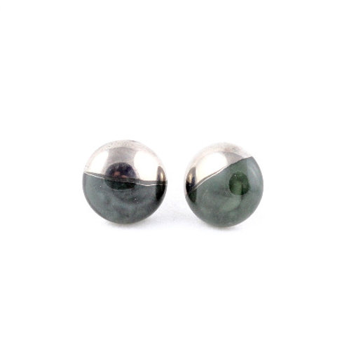 La Traviata earrings Dark Green N°16