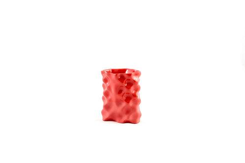 Ø Wave Collection Red Vase