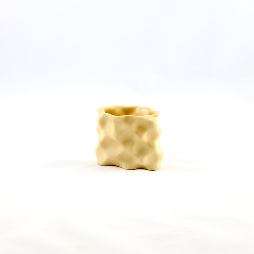Ø Wave Collection Yellow Vase