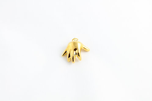 Gold Baby Hand Pendant