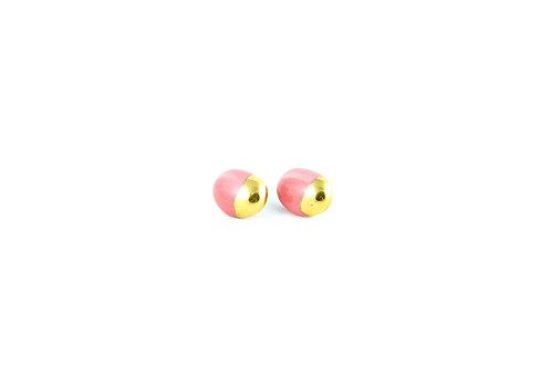 La Traviata Earrings Pink N°7