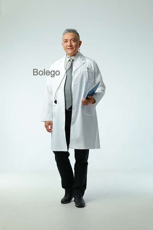 BN-025 Long Sleeves White Coat