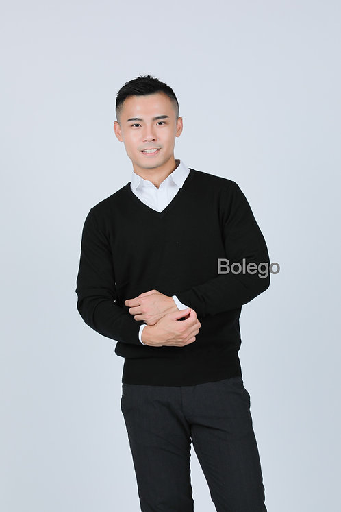 BM-C05 Italian Merino Wool Pullover