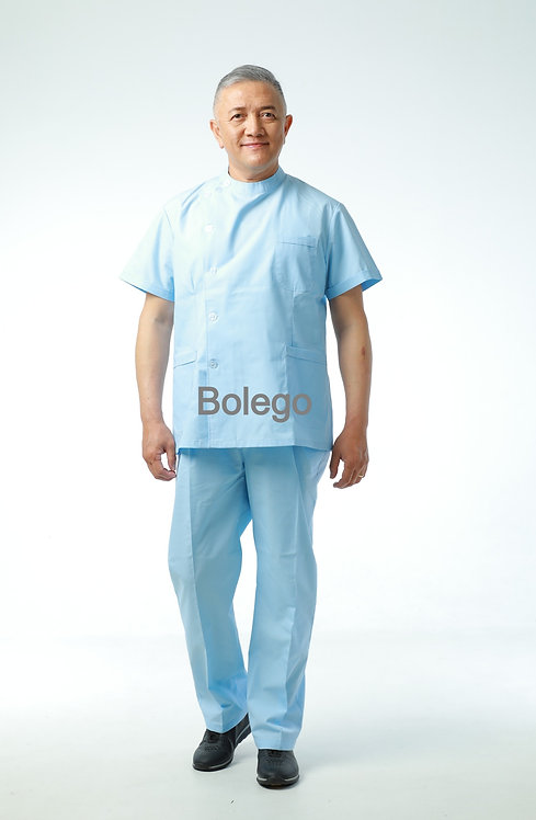 BN-021 Short Sleeves Pants Suit