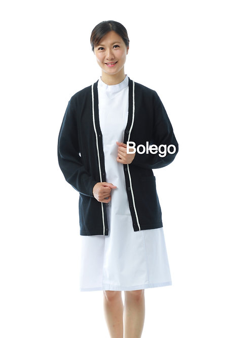BW-428 Plain Knit Cardigan