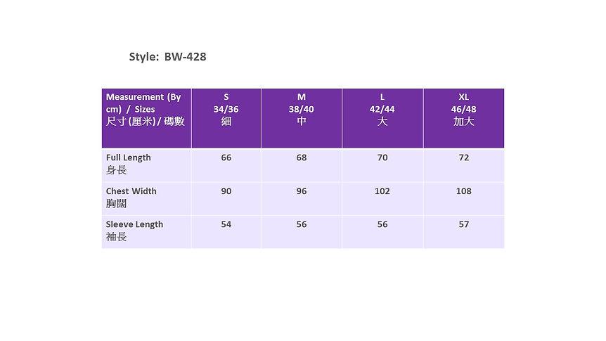 200422 Bolego Measurement Chart (Nurse)