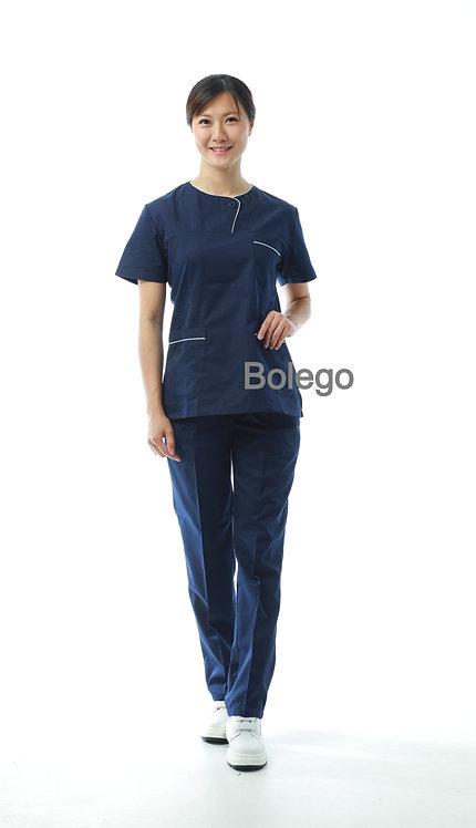 BN-023 Short Sleeves Pants Suit