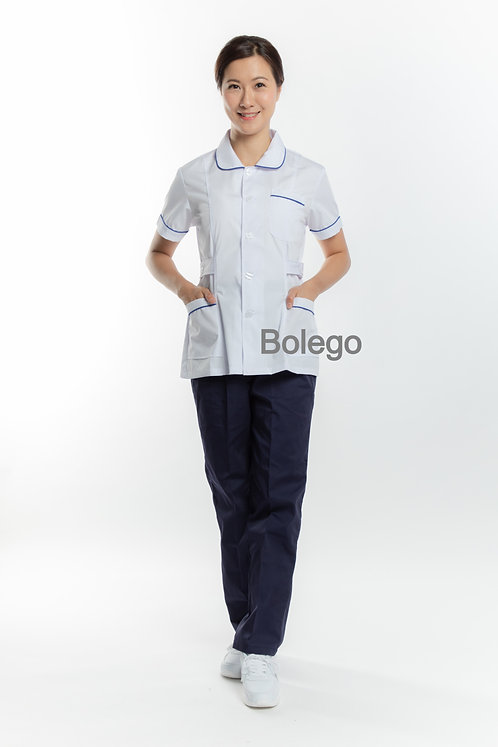 BN-016 Short Sleeves Pants Suit