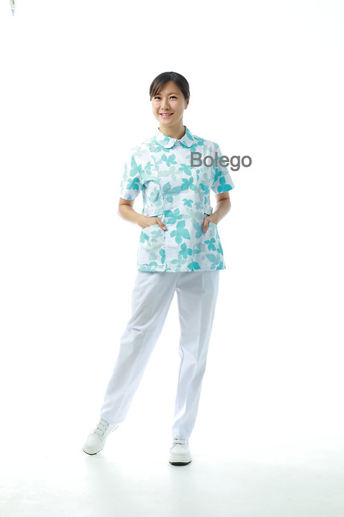 BN-015 Short Sleeves Pants Suit