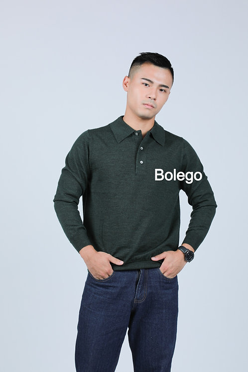 BM-C07  Italian Merino Wool Pullover