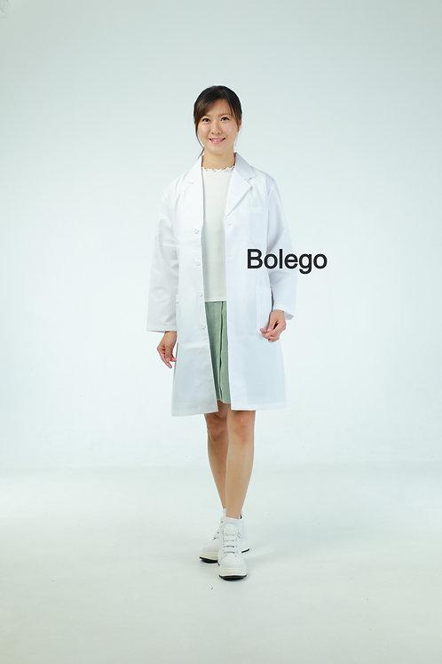 BN-024 Long Sleeves White Coat