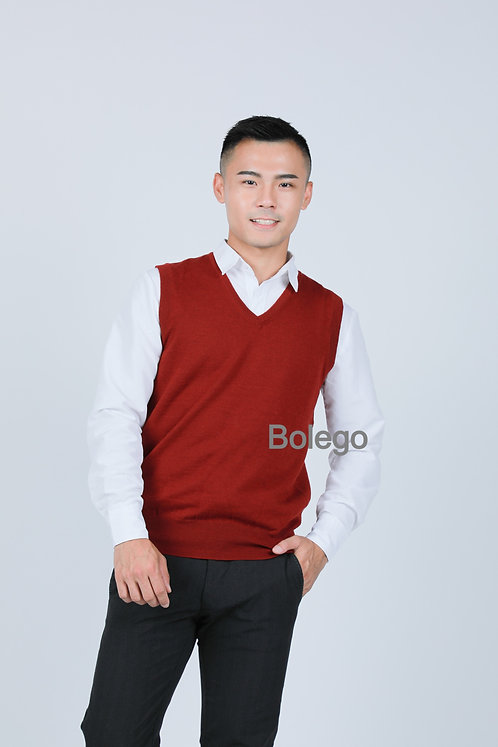 BM-C06 Italian Merino Wool Vest