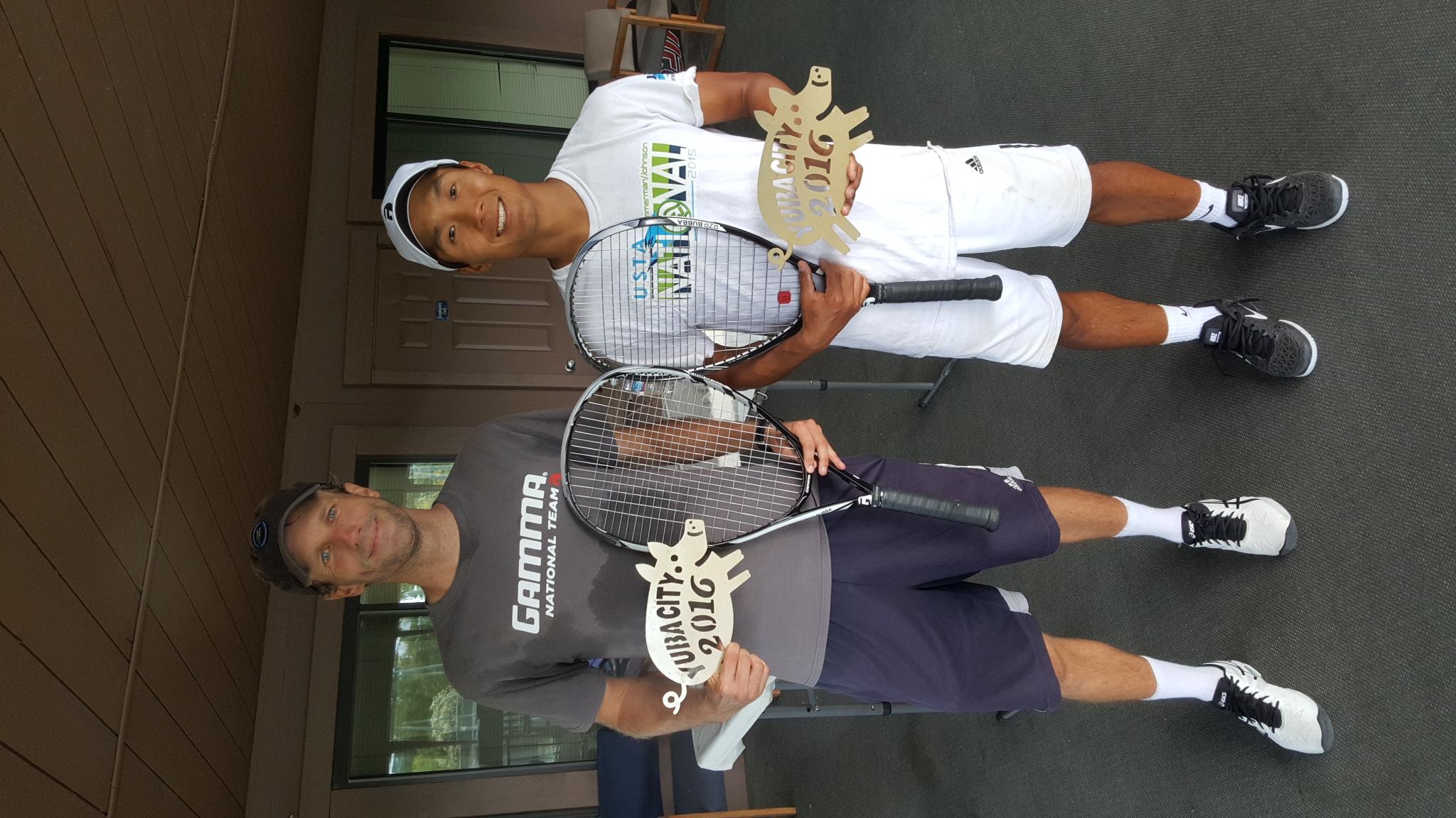 Yuba Open Men's Doubles Champions 2016