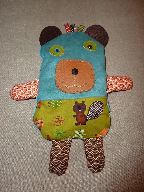 Doudou bouillotte 62 (ours)