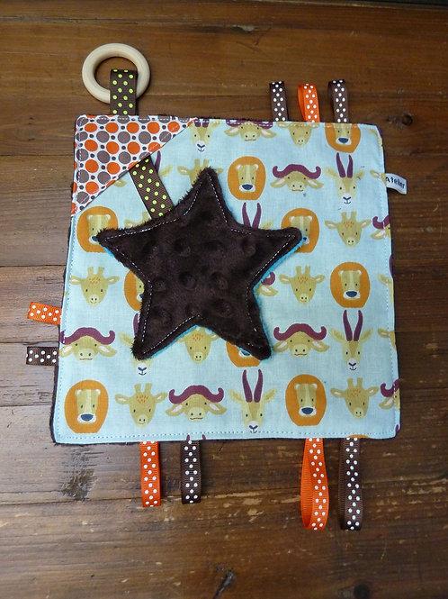 Doudou à croquer étoile 37