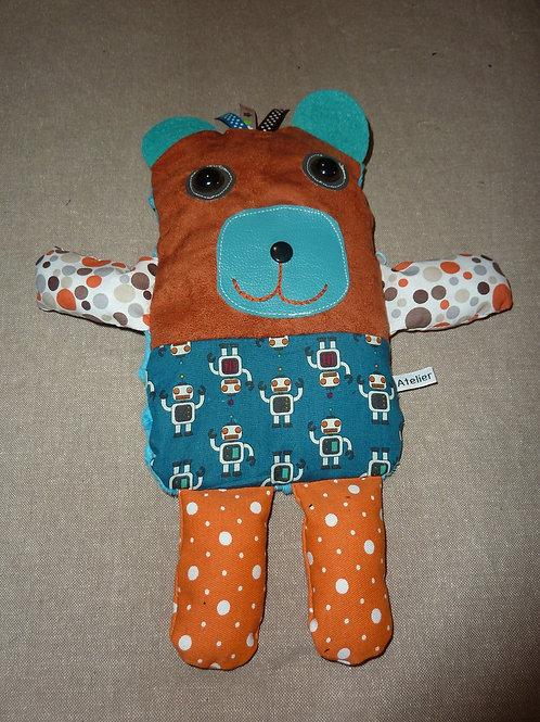 Doudou bouillotte 94 (ours)