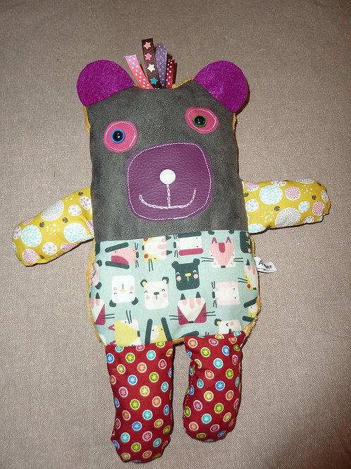 Doudou bouillotte 76 (ours)