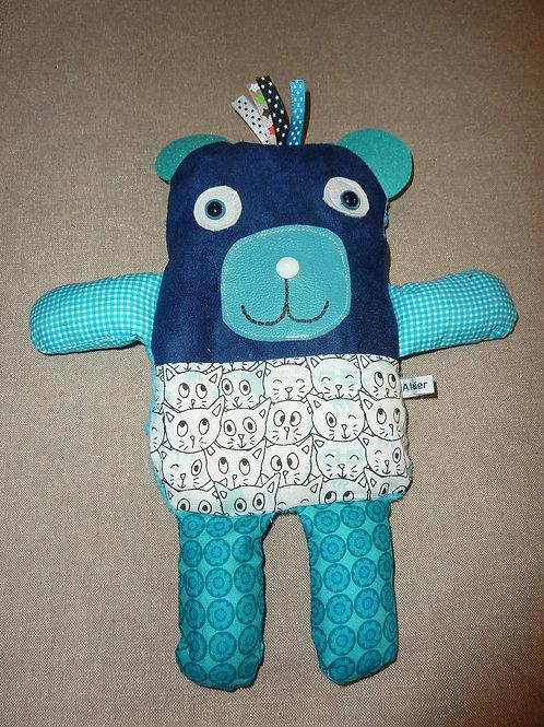 Doudou bouillotte 64 (ours)